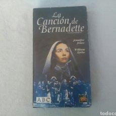 Cine: PELÍCULA EN VHS LA CANCIÓN DE BERNADETTE. Lote 194946265
