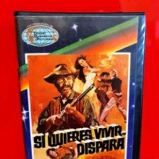 Cine: SI QUIERES VIVIR... DISPARA (1975) - SPAGHETTI WESTERN. Lote 194947491
