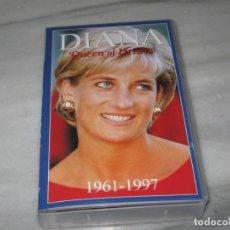 Cine: VHS DIANA. QUEEN OF HEARTS. 1961-1997. EN INGLÉS.. Lote 194964155
