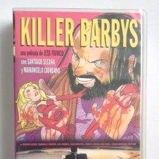 Cine: KILLER BARBIES JESS FRANCO SANTIAGO SEGURA MARIANGELA GIORDANO. Lote 194969618
