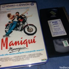 Cine: MANIQUI- VHS- IZARO CANNON (2). Lote 194969651