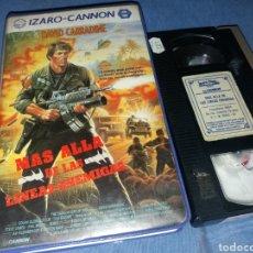 Cine: MAS ALLA DE LAS LINEAS ENEMIGAS- VHS- IZARO CANNON. Lote 194969817