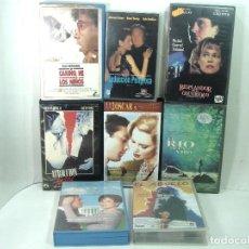 Cine: 8 PELICULAS VHS-EL ABUELO-ATRACCION FATAL-NORMAS CASA DE LA CASA DE LA SIDRA-DAVE-VIDEO CINTAS. Lote 194973928