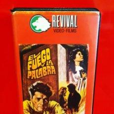 Cine: EL FUEGO Y LA PALABRA (1960) -1ª EDICIÓN. Lote 194974230