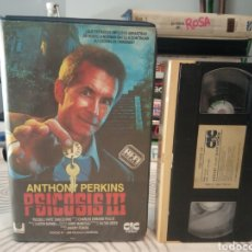 Cine: VHS - PSICOSIS III (PARTE 3) (1986) - ANTHONY PERKINS DIANA SCARWID JEFF FAHEY VHS 1ª EDICION. Lote 194993141