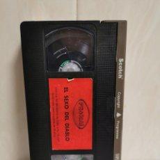 Cine: VHS EL SEXO DEL DIABLO CINE CLÁSICO X JUAN AMOR. Lote 195048067