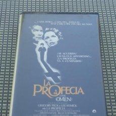 Cine: VHS - PELICULA LA PROFECIA (THE OMEN) . Lote 195050795