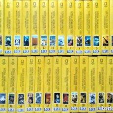 Cine: DOS COLECCIONES DE DOCUMENTALES DE ''NATIONAL GEOGRAPHIC'' (VHS) - 72 CINTAS. Lote 195059186