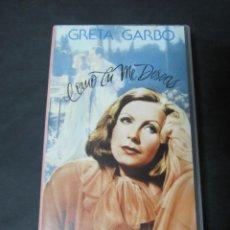 Cine: VHS VIDEO COMO TU ME DESEAS GRETA GARBO. Lote 195060585