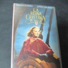 Cine: VHS VIDEO LA REINA CRISTINA DE SUECIA ROUBEN MAMOULIAN JOHN GILBERT GRETA GARBO. Lote 195060670