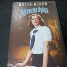 Cine: VHS VIDEO NINOTCHKA GRETA GARBO ERNST LUBITSCH MELVYN DOUGLAS BELA LUGOSI. Lote 195060751