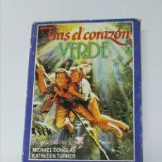 Cine: TRAS EL CORAZÓN VERDE VHS. Lote 195060831