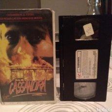 Cine: CASSANDRA - COLIN EGGLESTON , SHANE BRIANT , BRIONY BEHETS - TERROR - VHS. Lote 195144088