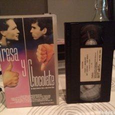 Cine: VHS. FRESA Y CHOCOLATE. GUTIERRES ALEA Y TABIO. Lote 195144178