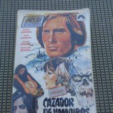 Cine: CAZADOR DE VAMPIROS - CAPITAN KRONOS POR HORST JANSON Y CAROLINE MUNRO - GENERO TERROR. COLOR. Lote 195152185