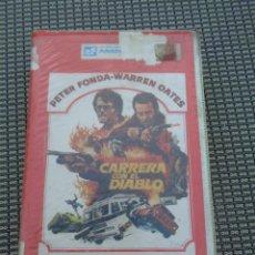 Cine: VHS- CARRERA CON EL DIABLO - PETER FONDA WARREN OATES - SECTAS SATANICAS. Lote 195152548