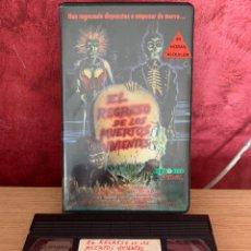 Cine: EL REGRESO DE LOS MUERTOS VIVIENTES VHS 1 EDICIÓN. Lote 195172757