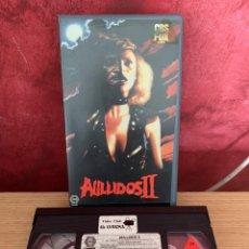 Cine: AULLIDOS 2 VHS 1 EDICIÓN. Lote 195172841