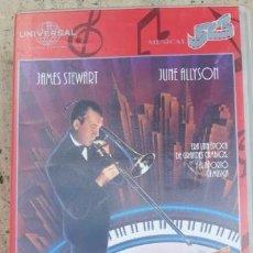 Cine: 1 VDEO VHS ** MUSICA Y LÁGRIMAS . JAMES STEWART ** 1996 MUSICAL .SIN REVISAR . Lote 195181635
