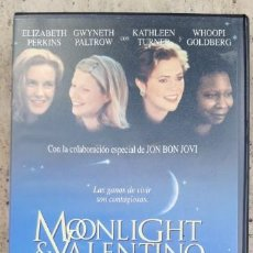 Cine: 1 VDEO VHS ** MOONLIGHT & VALENTINO. GWYNETH PALTROW . ** 1996 SIN REVISAR. Lote 195185701