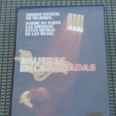 Cine: MUJERES ENCADENADAS - DRAMA CARCELARIO - BELINDA MONTGOMERY- VHS. Lote 195200070