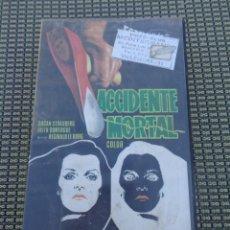 Cine: ACCIDENTE MORTAL - SUSAN STRASBERG - VHS. Lote 195201481