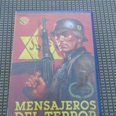 Cine: VHS - MENSAJEROS DEL TERROR (TÍTULO ORIG. ANNE FRANK REMEMBERED) • DIR.ALISON LESLIE GOLD. 1995. VHS. Lote 195201681