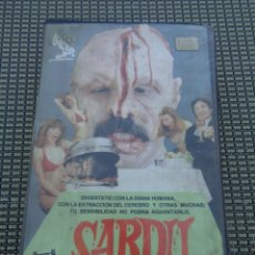 Cine: SARDÚ / BLOODSUCKING FREAKS / TERROR GORE TROMA / CINTA V.H.S / BIZARRADA. Lote 195202297