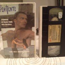 Cine: VHS EL PENITENTE - RAUL JULIA - ARMAND ASSANTE - UNICA EN TC. Lote 195244141