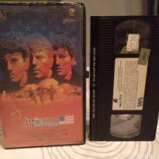 Cine: INFIERNO EN EL ARTICO (1986) - RENNY HARLIN MIKE NORRIS STEVE DURHAM DAVID COBURN VHS 1ª EDICION. Lote 195244695