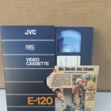 Cine: PELÍCULA VHS DIE STUNDE DES LÖWEN. Lote 195308623