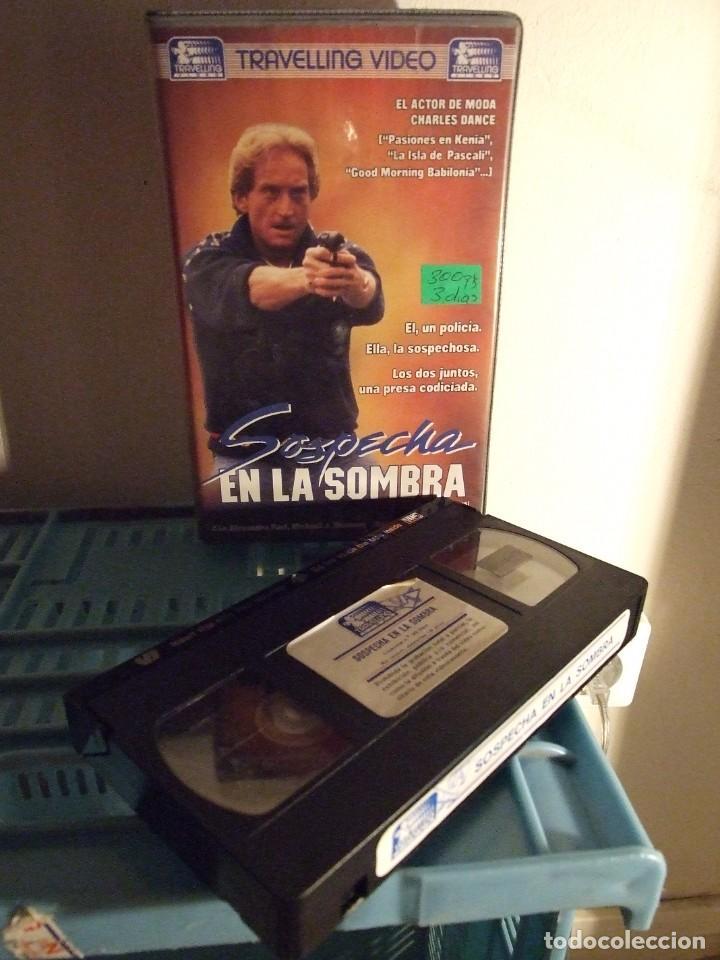 SOSPECHA EN LA SOMBRA - WILLY PATERSON - ALEXANDRA PAUL , MICHAEL SHANNON - TRAVELLING 1990 (Cine - Películas - VHS)