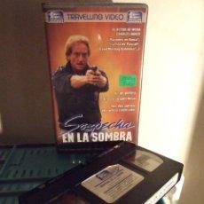 Cine: SOSPECHA EN LA SOMBRA - WILLY PATERSON - ALEXANDRA PAUL , MICHAEL SHANNON - TRAVELLING 1990. Lote 195337303