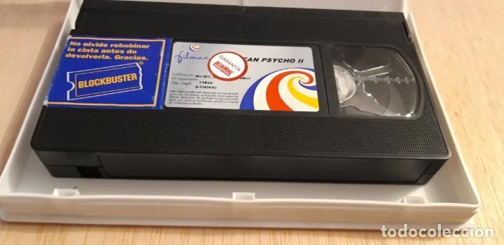 1 VIDEO VHS SIN CARATULA** AMERICAN PSYCHO II MORGAN J. FREEMAN . MILA KUNIS ** 2002 SIN REVISAR (Cine - Películas - VHS)