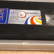 Cine: 1 VIDEO VHS SIN CARATULA** AMERICAN PSYCHO II MORGAN J. FREEMAN . MILA KUNIS ** 2002 SIN REVISAR. Lote 195337410