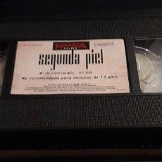 Cine: 1 VIDEO VHS SIN CARATULA**SEGUNDA PIEL JAVIER BARDEM, JORDI MOLLÀ, ARIADNA GIL, **1999 SIN REVISAR. Lote 195337738