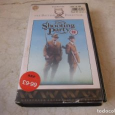 Cine: THE SHOOTING PARTY VHS - V.O. INGLÉS - WARNER HOME VIDEO 1988. Lote 195353092