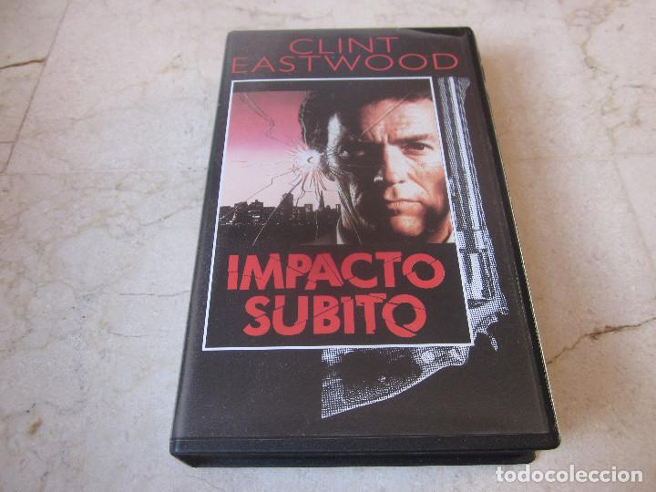 CLINT EASTWOOD - IMPACTO SUBITO VHS - PLANETA DEAGOSTINI 1997 (Cine - Películas - VHS)