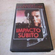 Cine: CLINT EASTWOOD - IMPACTO SUBITO VHS - PLANETA DEAGOSTINI 1997. Lote 195353341