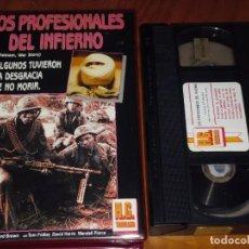 Cine: LOS PROFESIONALES DEL INFIERNO - VHS - BÉLICA. Lote 195358588