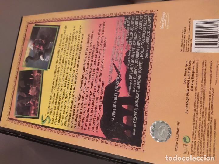 Cine: Aventura Elefantastica VHS. Rareza Disney - Foto 2 - 195367181