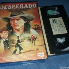 Cine: DESPERADO - VHS- ALEX MCARTHUR- DAVID WARNER. Lote 195431028