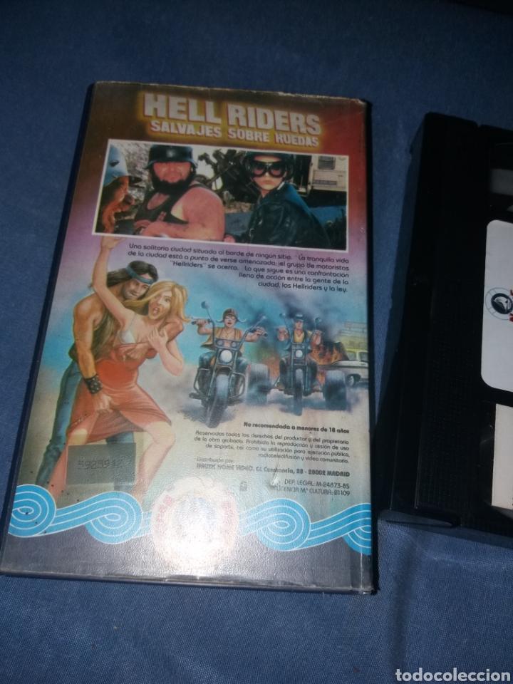 Cine: Hell riders - Vhs- (unica) motoras violentos - Foto 2 - 195431177