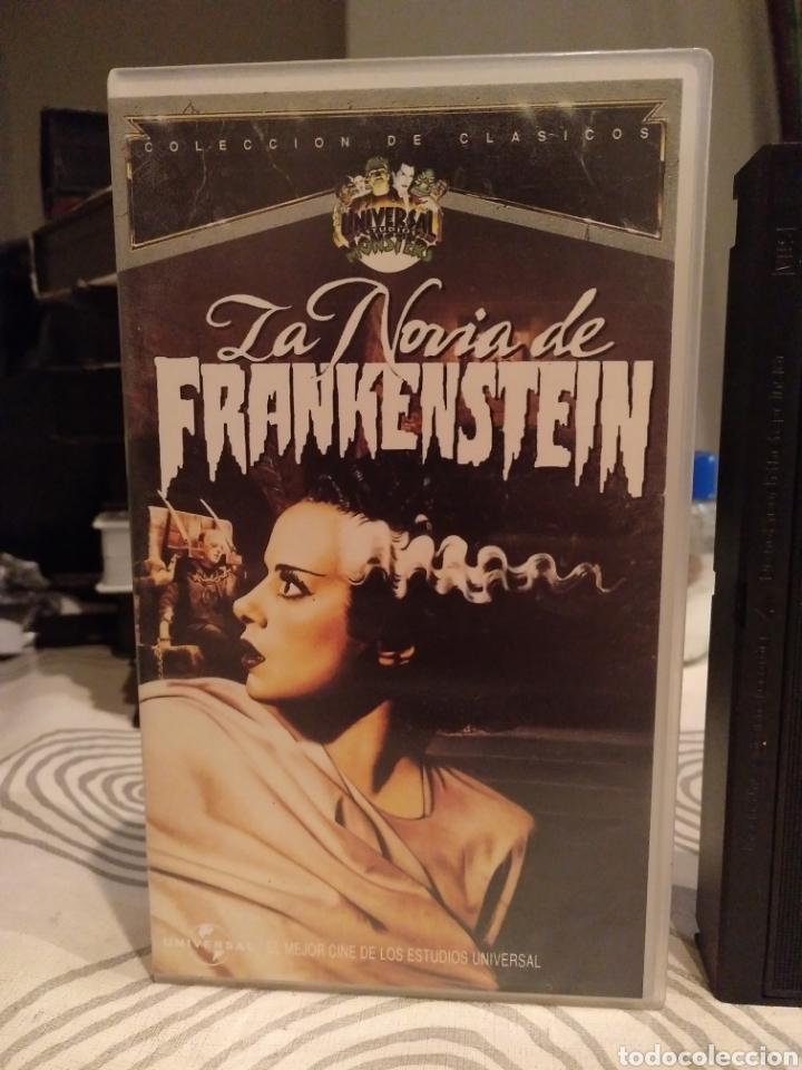 Cine: LA NOVIA DE FRANKENSTEIN. BORS KARLOFF. JAMES WHALE. - VHS - Foto 2 - 195431588
