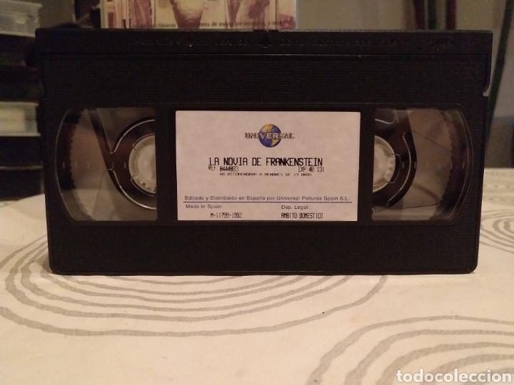 Cine: LA NOVIA DE FRANKENSTEIN. BORS KARLOFF. JAMES WHALE. - VHS - Foto 4 - 195431588