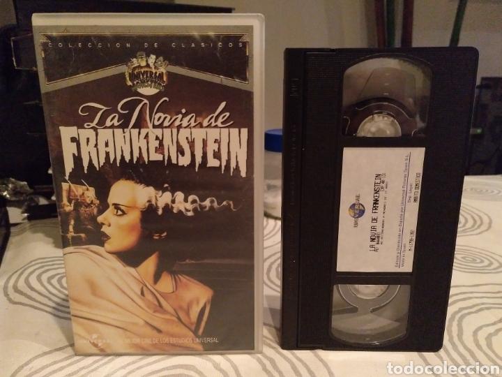 LA NOVIA DE FRANKENSTEIN. BORS KARLOFF. JAMES WHALE. - VHS (Cine - Películas - VHS)