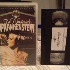 Cine: LA NOVIA DE FRANKENSTEIN. BORS KARLOFF. JAMES WHALE. - VHS. Lote 195431588