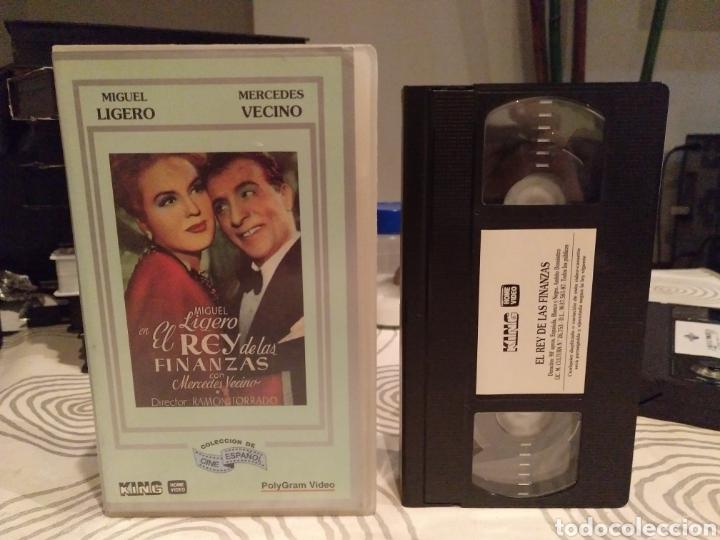 EL REY DE LAS FINANZAS - MIGUEL LIGERO - MERCEDES VECINO - RAMON TORRADO (Cine - Películas - VHS)