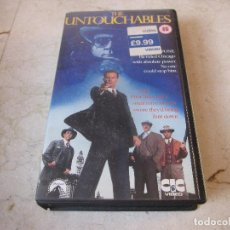 Cine: THE UNTOUCHABLES VHS - V.O. INGLÉS - CIC VIDEO 1987. Lote 195444808
