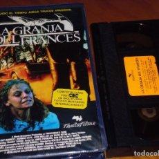 Cine: LA GRANJA DEL FRANCES - RAY BARRETT, NORMAN KAYE, TRACEY TAINSH - TERROR - SUSPENSE - VHS. Lote 195446073